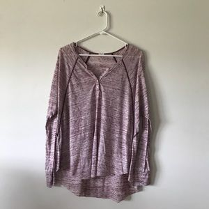 T. La Anthropologie Burnout Henley